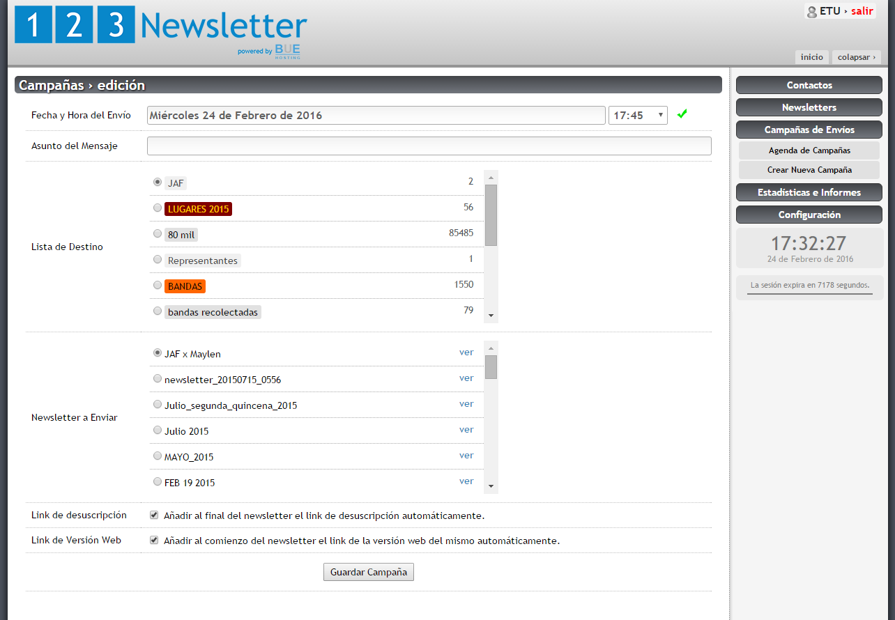 123 Newsletter - Email marketing, Env o de Newsletter, Campa as de ...